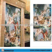 white shell mosaic tiles, shell mosaic slate for wall