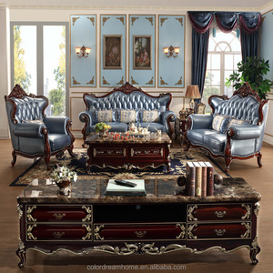Top Quality Luxury Hand Carved Royal Throne Wedding Sofa set For Living Room
