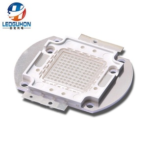 32V 100W high lumen cob green led diode for garden lamp