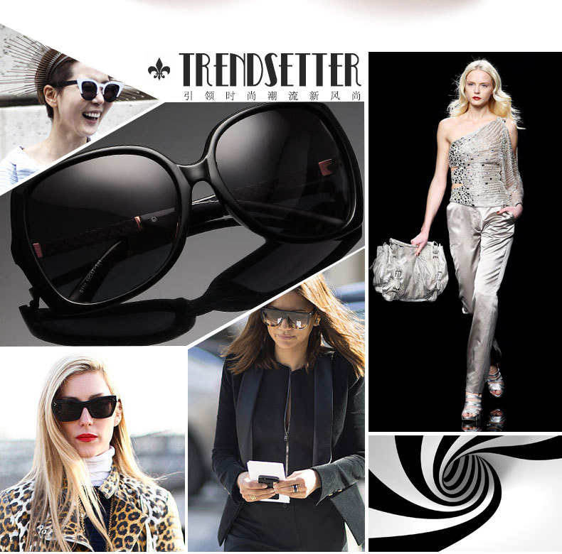 2015 New Luxury Brand Sunglasses Women Brand Designer Female lunette de soleil femme de marque Sun glasses Polarized CC0009