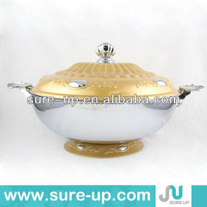 Large size arabic style food warmer container, food warmer pot, thermal lunch container food for mid east