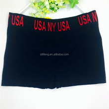 sexy hot mens seamless boxer shorts black briefs underwear for boys