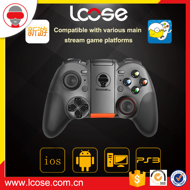 Lcose high quality wireless gamepad, game controller for ios, joy stick for android