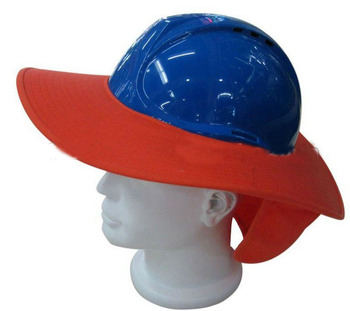 8d9ee1e4517 Histay Suzhou Anti sunshine sun shade Safety Helmet hard hat brim with neck  flap in summer. View larger image