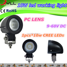 Cheap price 10W led work light of motorcycles , led working light DC 9-60V