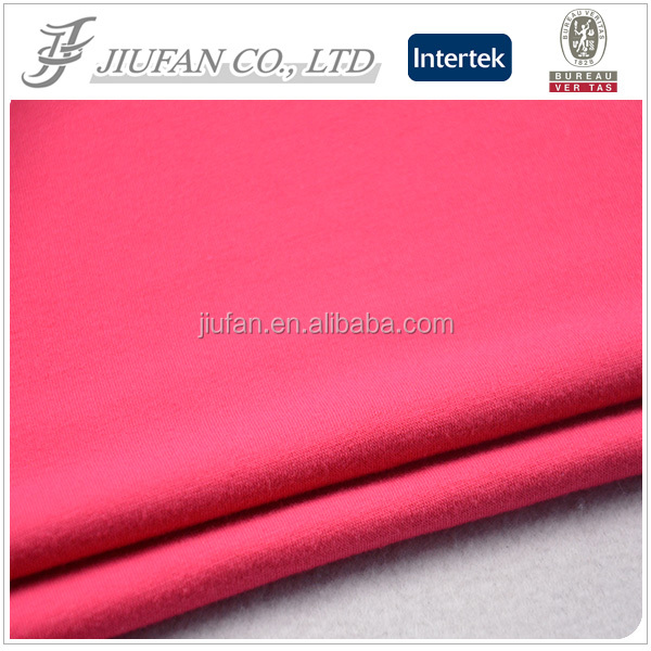 Jiufan Textile Wholesale Brushed French Knitted Sport Wear Fabric