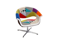 patchwork art deco dining chairs