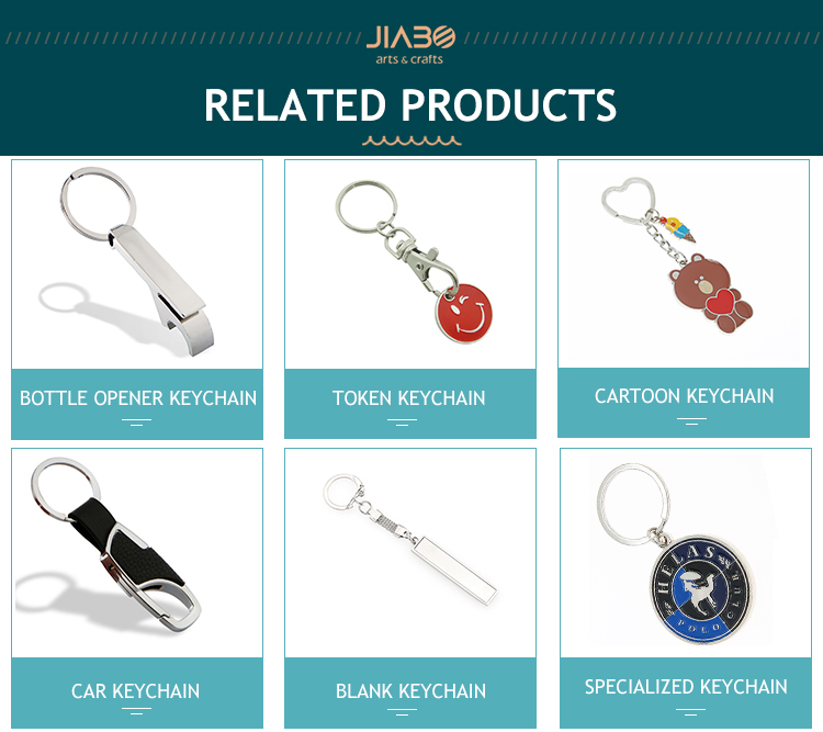 3D Wholesale custom logo fashion key chain