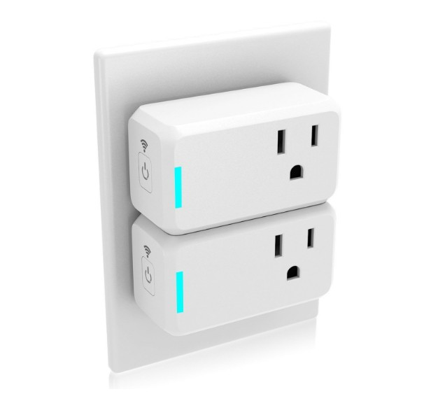 Wholesale Wifi Smart Plug Alexa and Google Assistant Supported
