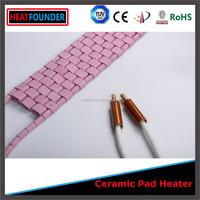 Flexible Ceramic heating pad ceramic pad