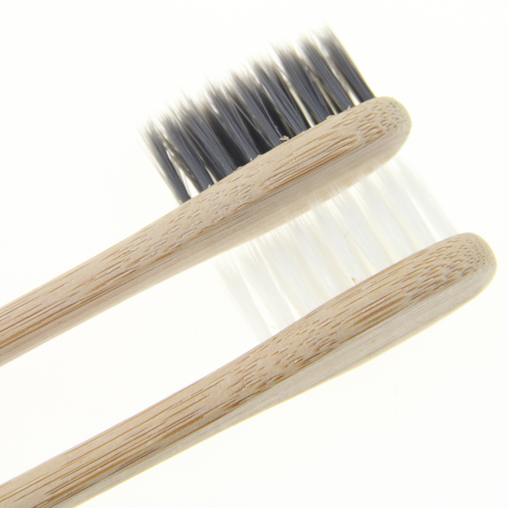 Wholesale Adult oem 100% Organic Bamboo Certified Bamboo Toothbrush