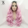 Alibaba heat Resistant synthetic hair front lace wigs wholesale.