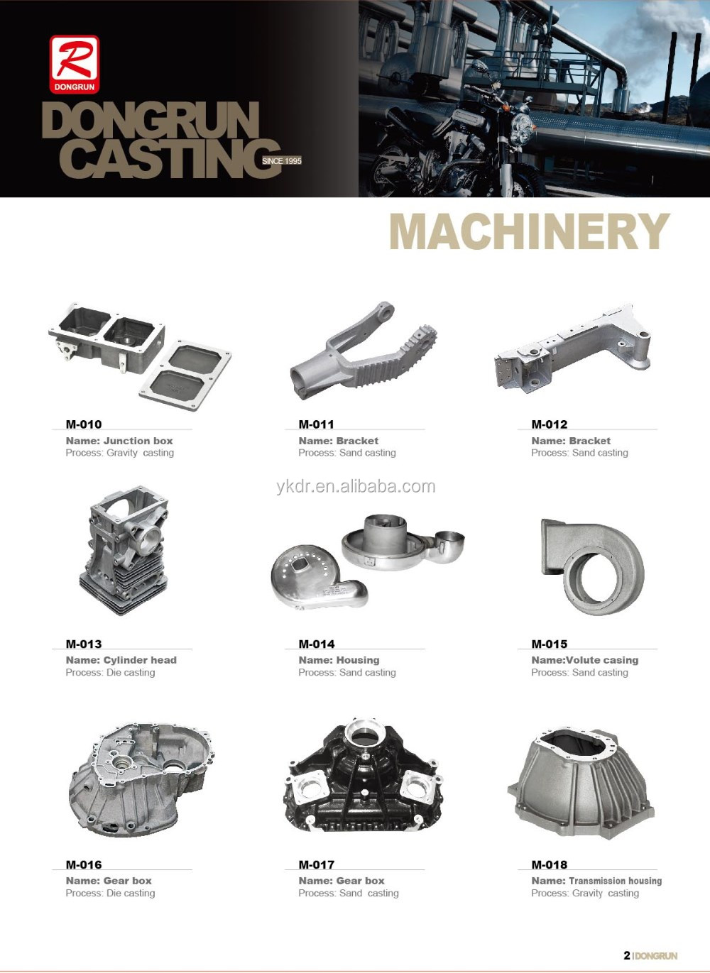 China Oem Foundry Supply Customize Gravity Casting Auto Parts ...