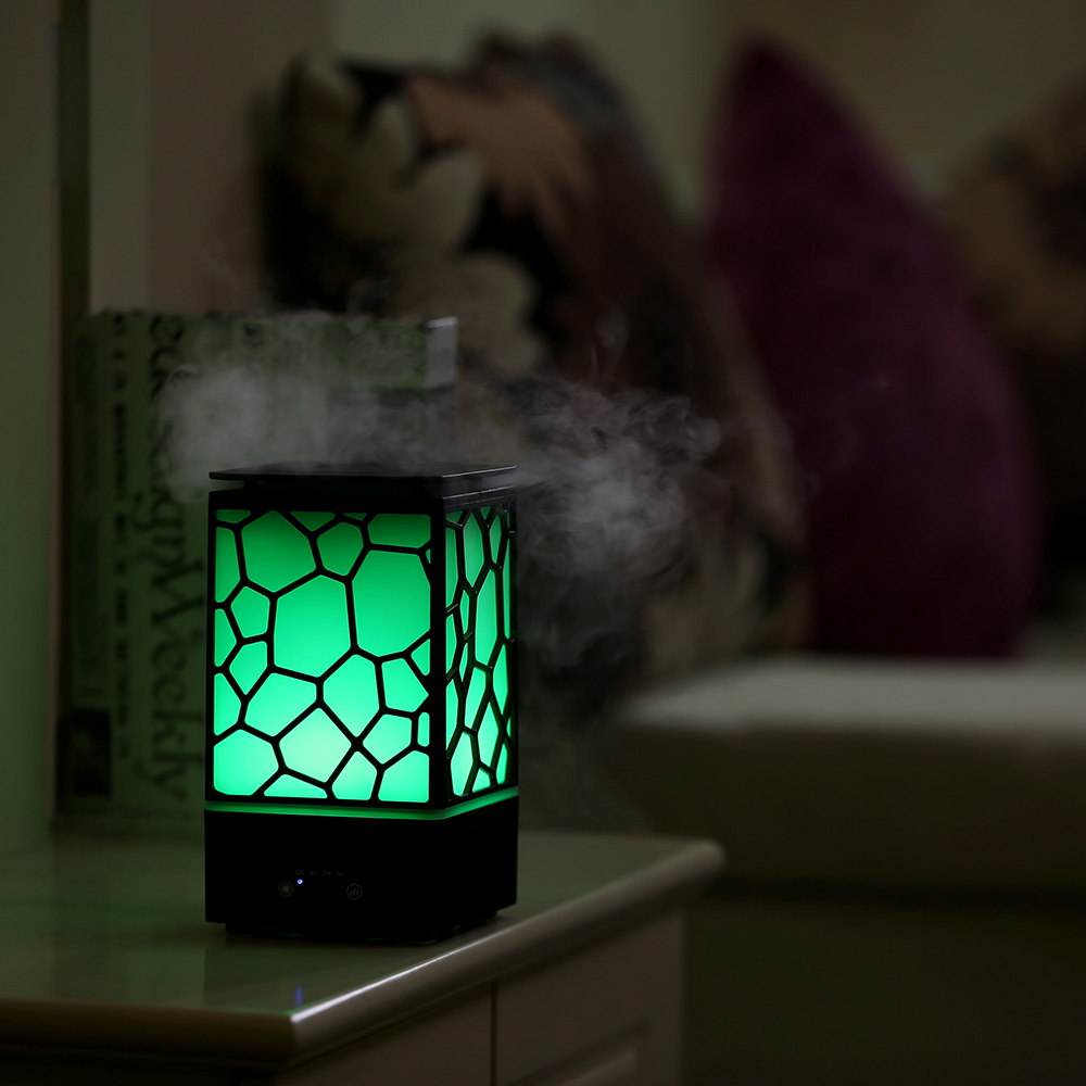 2017 Newest Water Cube USB Ultrasonic Aroma Diffuser For Bedroom