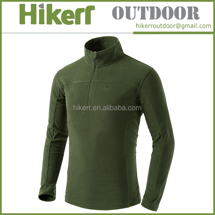 Naturehike keep warm outdoor clothes softshell T-shirt winter men fleece jacket