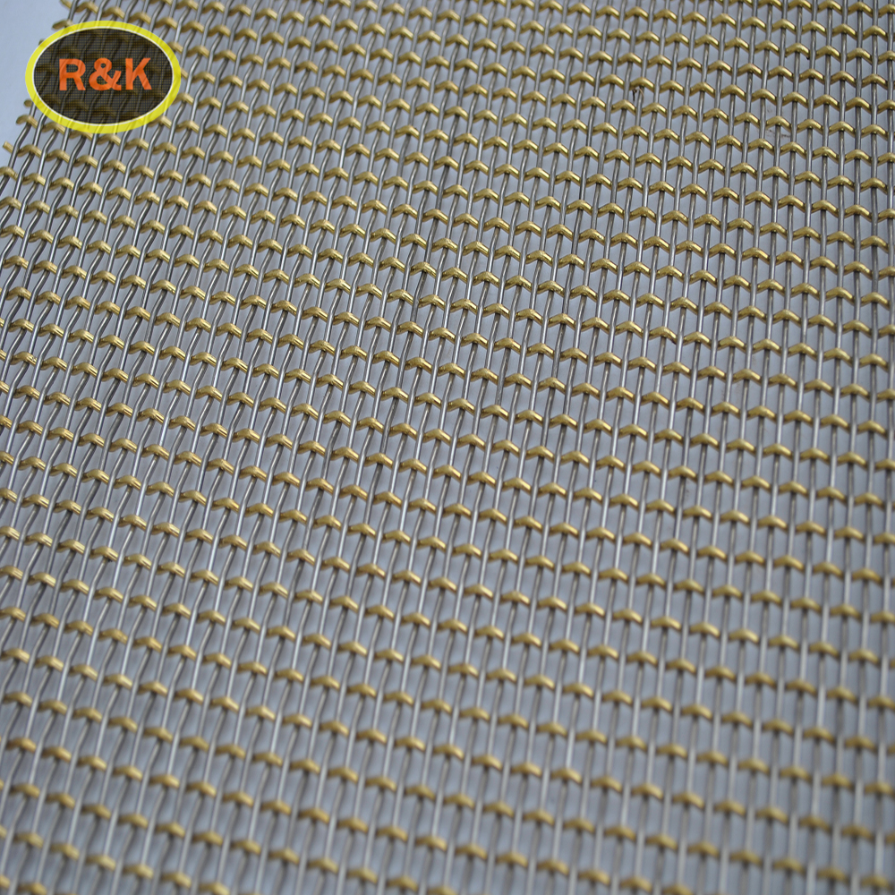 Stainless Steel Crimped 10 mesh stainless steel ss filter net