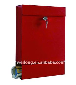 High Quality Durable Wall Mounted Office Mailboxes