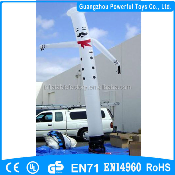 chef sky air dancer dancing man cheap inflatable air dancer costume