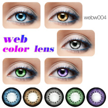 korea color contacts black edge big size color contact lens