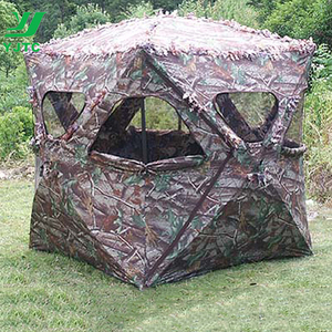 2018 New Portable Camouflage Hunting Blind Tent Army Military Tent