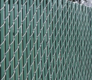 Chain link fence privacy weave panels buy chain link for Chain link privacy panels