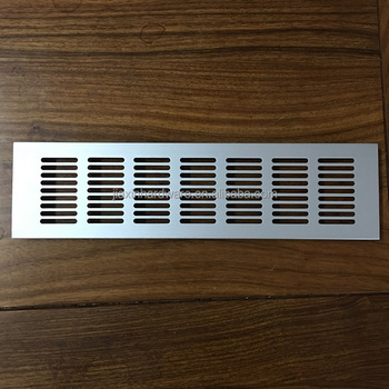 Charmant 80mm Width Aluminum Air Ventilation Decorative Grille Cover For Kitchen  Cabinet Or Office Desk