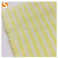 Hot sell Wholesale 100% cotton stripe Woven fabric