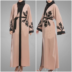 A3296 Islamic abaya dresses women arab ladies caftan malaysia abayas dubai turkish ladies clothing women muslim dresses