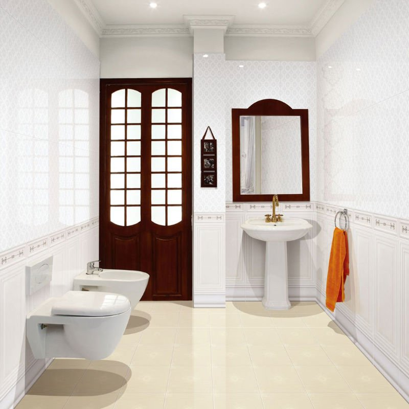30x60 Glazed Ceramic Bathroom Wall Tiles Buy Bathroom Tiles White Colored Ceramic  Tiles Tiles Ceramic Product. Bathroom Glazed Ceramic Wall Tile