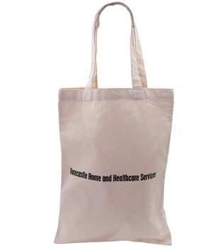 China wholesale plain organic cotton tote bag with factory cost price