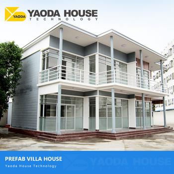 Prefab Villas Homes Prefabricated Houses Villas Energy Efficient Modern Design  Prefab Concrete Sandwich Panel Villa