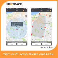 PROTRACK365 Fleet Management Free Web Real-time Tracking GPS Vehicle Tracker System Software With APP