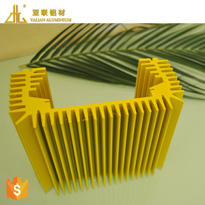 HOT! Competitive chinese aluminium profile manufacturer / extrude aluminum profiles heatsink factory OEM large aluminum heatsink