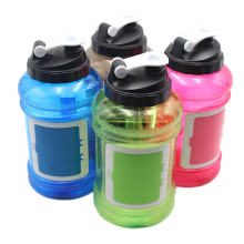 New Patented Products Half Gallon Water Bottle Drinking Container 2.2 Liter PETG Bottle