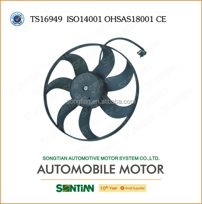 Big sell in Brazil market of electric motor cooling fan for VW Gol GV Fox reference No.5U0 959 455B