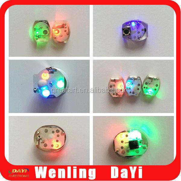 Battery Operated Mini Led Lights Jewelry Flashing Light Up