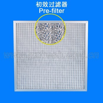 G2 Metal mesh panel air filter used in High temperature ventilation systems(Manufacturer)