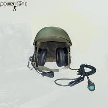 DH132 combat vehicle crewman military steel helmet PTE-747