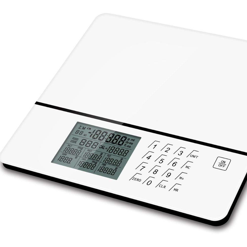 food  nutrition scale with large LCD display