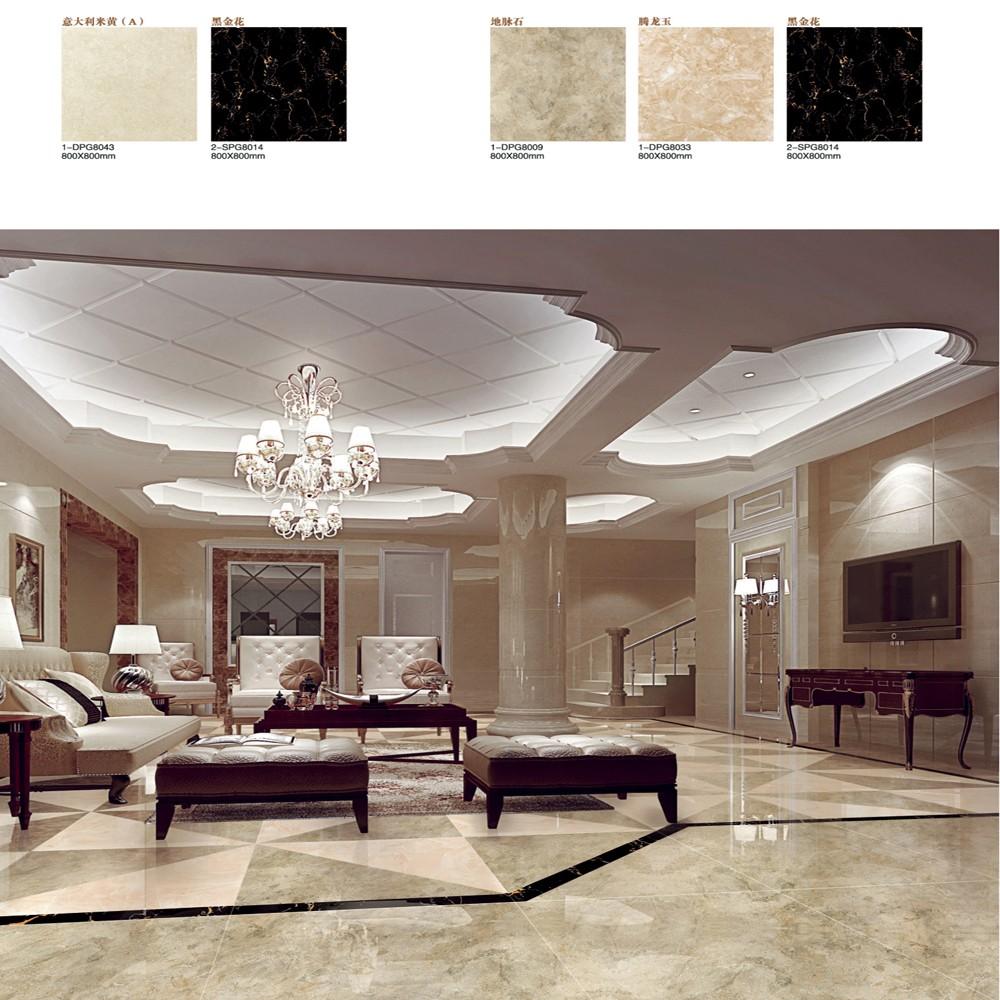 6060 Ceramics Porcelain Floor Tile Low Price First Living Room Full Polished Glaze Slip