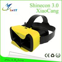 Shinecon 3 VR 3D Virtual Reality Glasses Headset W Adjustable Head Band Strap for 4.7
