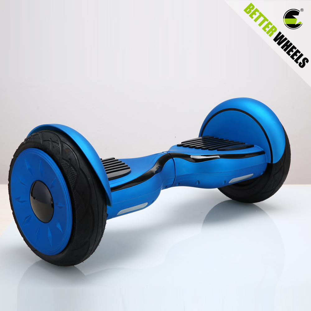 Better wheels 10inch motor hover board 2 wheels electric scooter best selling Balance scooter