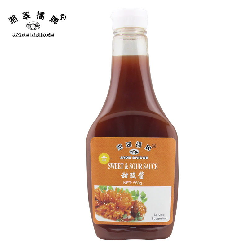 Made in China PET squeeze extruding screwed bottle & Sweet Sour Sauces for dipping