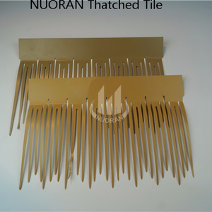 Nuoran water reed thatch for roof decoration synthetic thatch roofing