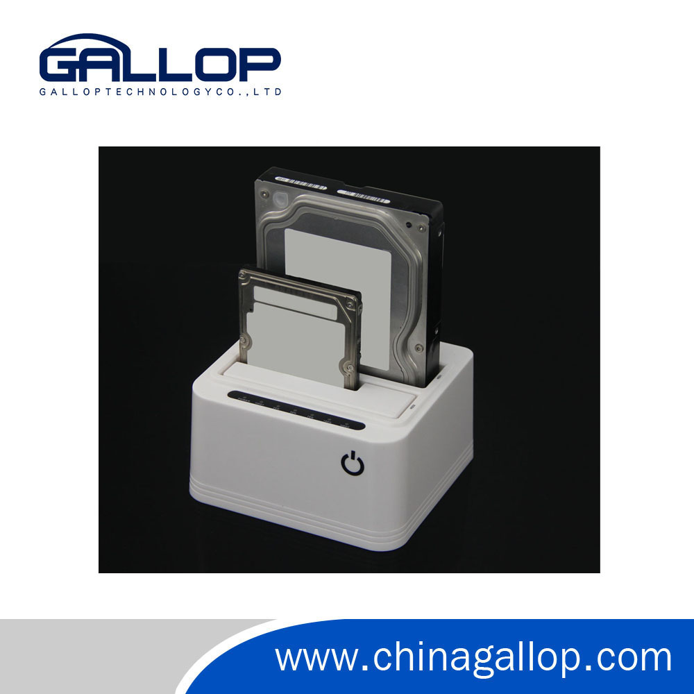High quality Custom made Clone function duplicator hdd docking station.