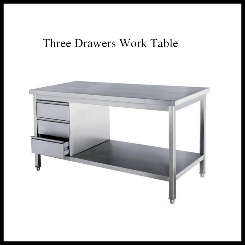 Heavy Duty Stainless Steel Kitchen Work Table With 4 Drawers Buy Stainless Steel Kitchen Work Table With 4 Drawer Work Table With Drawers Kitchen