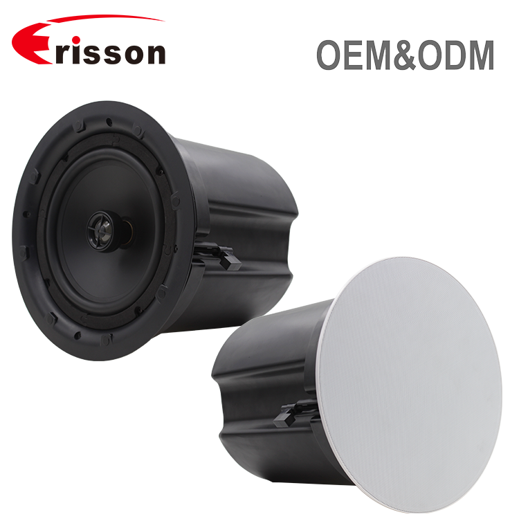 "ERISSON OEM Manufacturer PA System 8"" Wall Mount Active Ceiling Speaker"