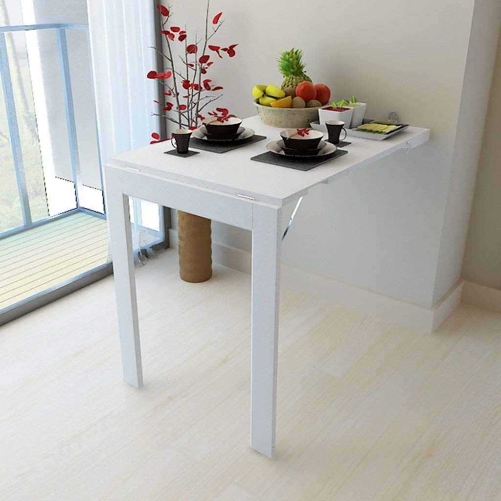 Mmdp Multifunctional Wall-mounted Foldable Dining Tables White Side Table Household Computer Desk