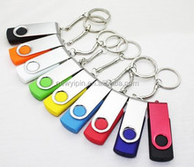2GB4GB8GB16GB32GB Pen Drive (Flash Memory) USB 2.0 Swivel design with key ring keychain