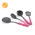 4-piece set colorful latest kitchen accessories/nylon kitchen utensils